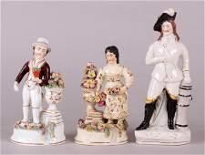 Three 19th Century Staffordshire Figures