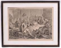 William Hogarth British 16971764 Engraving