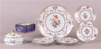 Estate Lot Dresden Herend and Wedgwood Porcelain