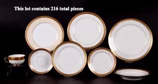 200+ Pieces of Porcelain Dinnerware, Limoges, Lenox
