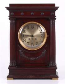 """A Rare Chelsea """"Empire"""" Shelf Clock"""