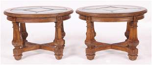 A Pair of Modern Side Tables