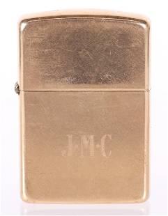 A 14k Gold Zippo Lighter