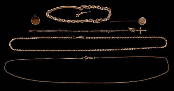 A Group of 14k Estate Jewelry
