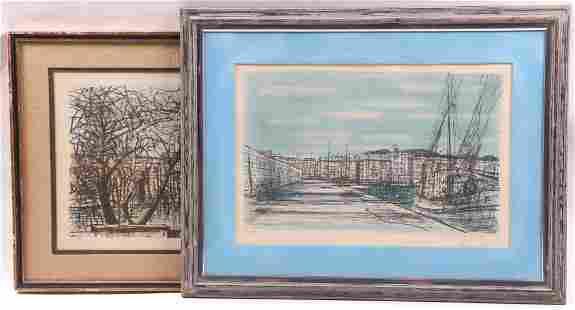 Jean Carzou 1907 2000 Two Lithographs