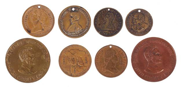 Tokens Historical Interest Campaign Medals Etc