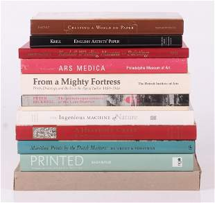A Group of Books Relating to PrintsArt