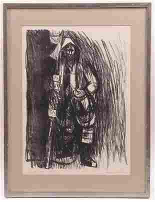 Ray Prohaska 1901 1981 Lithograph