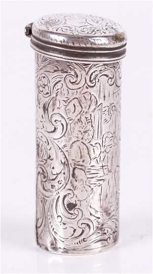 A Coin Silver Nutmeg Grater