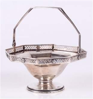 A Sterling Basket Given by John Wanamaker