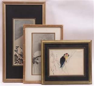 Japanese Woodblock Prints, Ohara Koson, Etc...