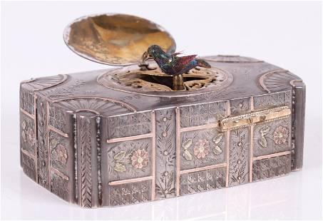 Singing Bird Box Automaton by John Manger, 1881