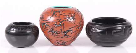 Three Pieces of Southwest Pottery