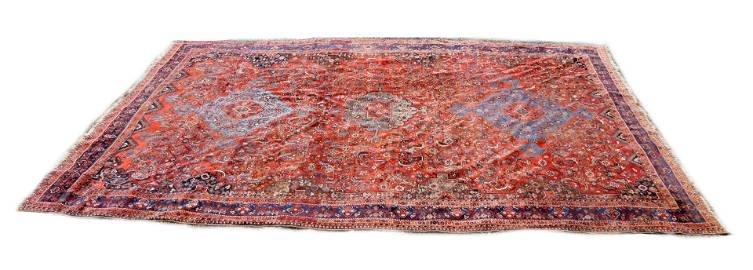 A Large Southwest Persian Carpet c. 1900