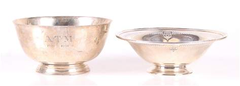 Two Pieces of Sterling Hollowware