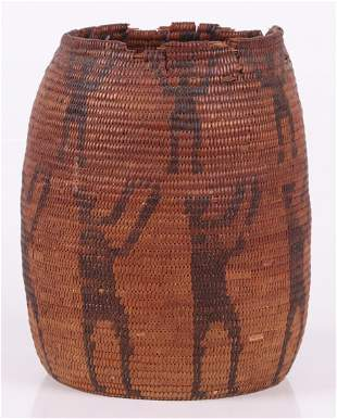 An Antique Apache Basket