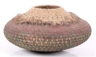 A Painted Basket by Jane Niejadlik