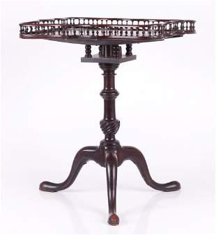 A George III Mahogany Candlestand