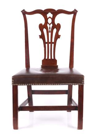 A Chippendale Period English Side Chair