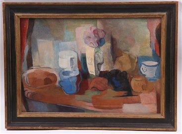 Elisabeth Epstein-Hefter (1879 - 1956) O/C