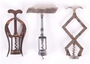 Three Good Corkscrews