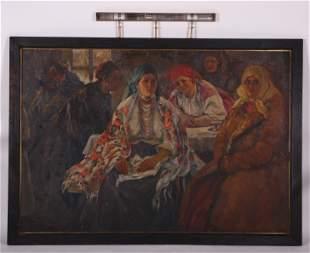 Boris Eremeevich Vladimirsky (1878-1950) O/C