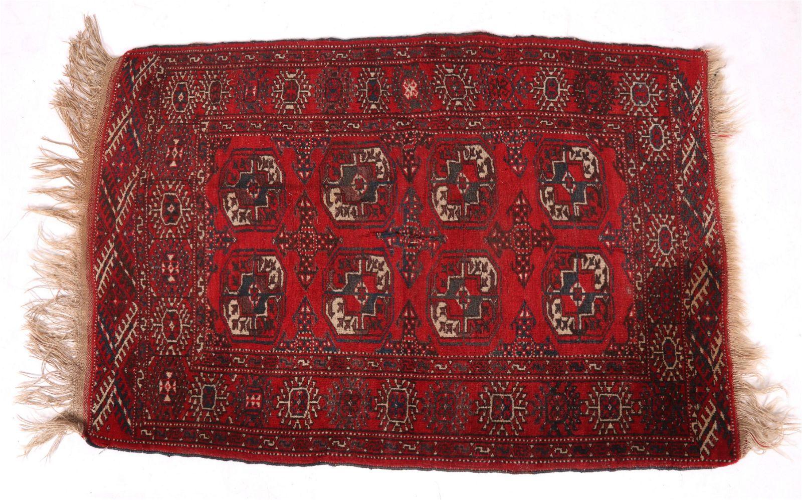 A 20th Century Wool Bokhara