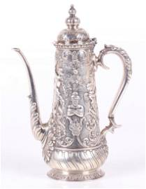 A Tiffany and Co. Sterling Demitasse Pot
