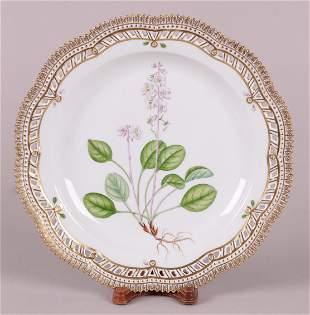 A Royal Copenhagen Flora Danica Plate
