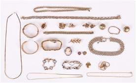 A Group of Gold Filled, Etc.., Estate Jewelry