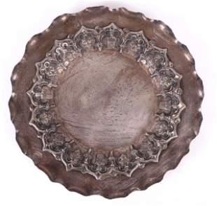 A Portuguese Silver Tray