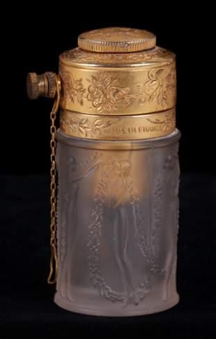 R. Lalique Perfume Bottle, Atomizer