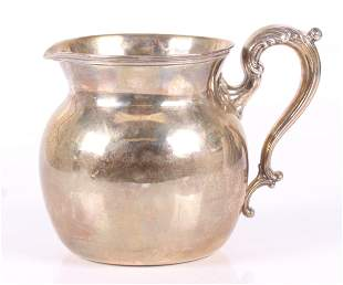A Sterling Silver Water Pitcher