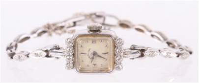 A Vintage Hamilton Ladies 14k Gold Watch