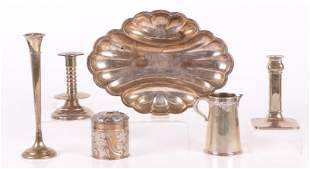 A Group of Estate Sterling Silver