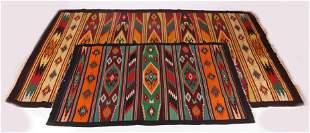 Two Vintage Rio Grande Blankets