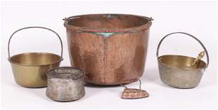Estate Lot, Metalware