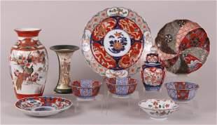 A Group of Japanese Porcelain, Imari and Satsuma