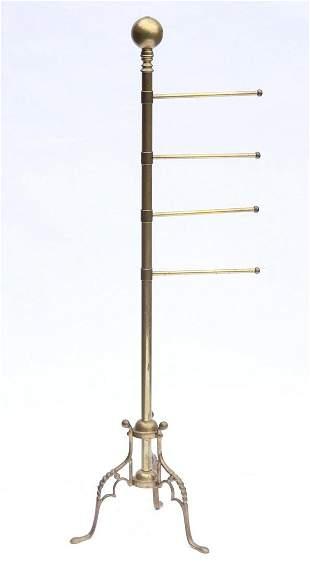 A Brass Coat Rack