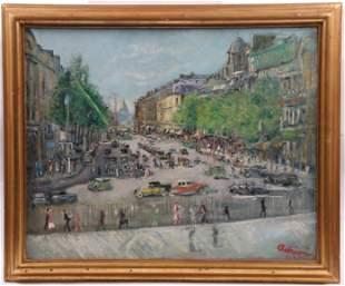 Lucien Adrion (1889 - 1953) Oil on Canvas