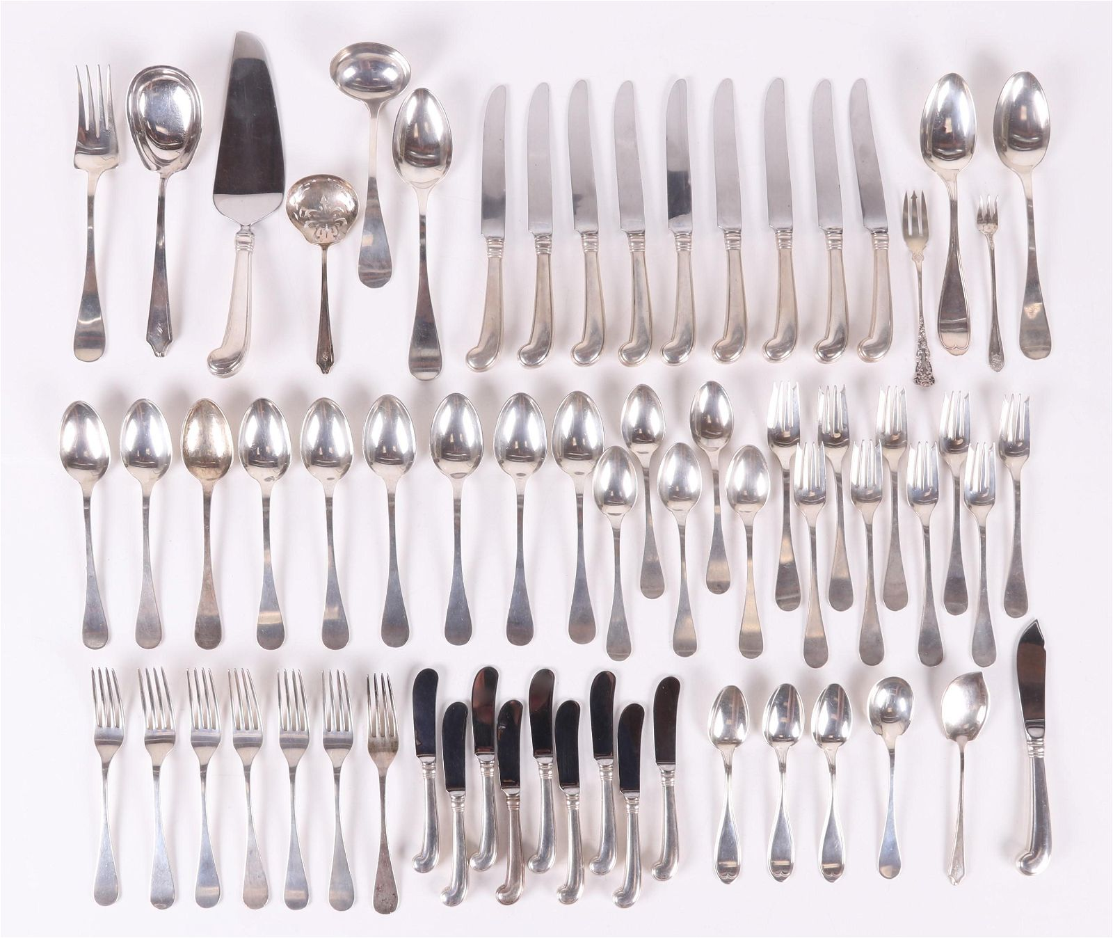 Sterling Silver Flatware Including Tiffany