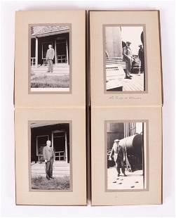 Two Circa 1920 Travel Photo Albums