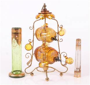 Three Pieces of Continental Glass
