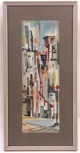 Margery Soroka (1920-1990) Watercolor