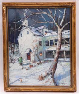 Christopher G. Willett (Born 1959) Oil on Canvas