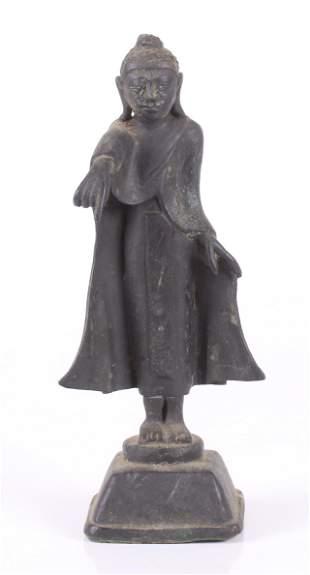 A Southeast Asian Bronze Buddha