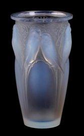 R. Lalique Ceylan Pattern Vase
