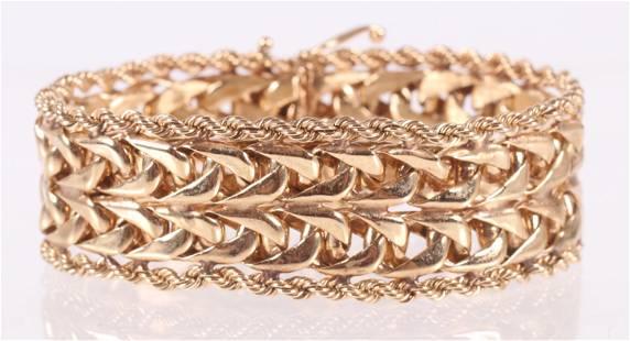 A 14k Gold Bracelet