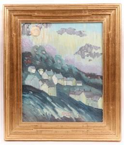 Joseph Barrett (Born 1936) Oil on Canvas