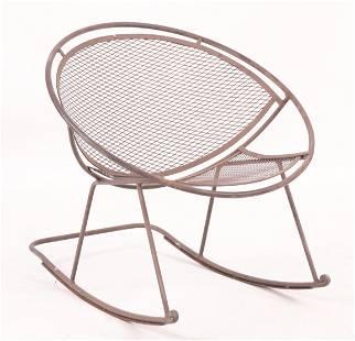 Salterini Wrought Iron Rocking Chair